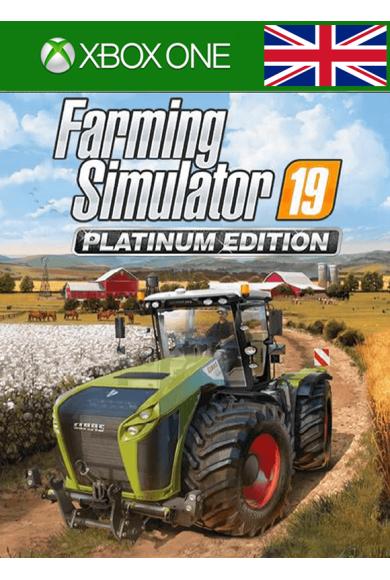 Farming Simulator 19 - Platinum Edition (UK) (Xbox One)