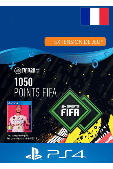 FIFA 20 - 1050 FUT Points (France) (PS4)