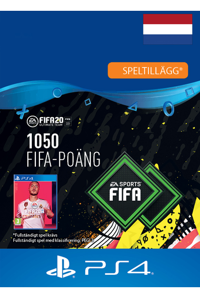 FIFA 20 - 1050 FUT Points (Netherlands) (PS4)