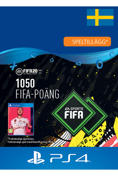 FIFA 20 - 1050 FUT Points (Sweden) (PS4)