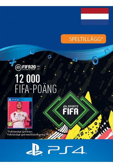 FIFA 20 - 12000 FUT Points (Netherlands) (PS4)