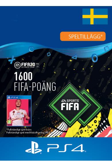 FIFA 20 - 1600 FUT Points (Sweden) (PS4)