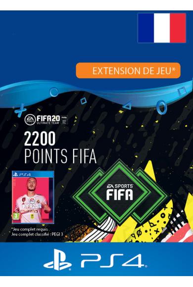 FIFA 20 - 2200 FUT Points (France) (PS4)