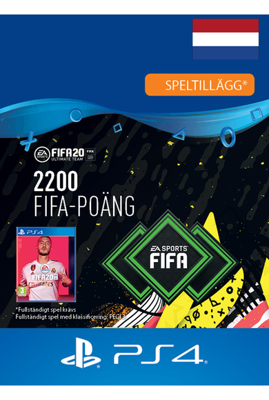 FIFA 20 - 2200 FUT Points (Netherlands) (PS4)