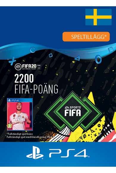 FIFA 20 - 2200 FUT Points (Sweden) (PS4)