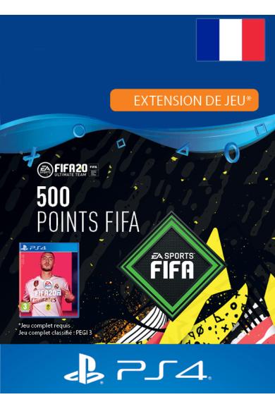 FIFA 20 - 500 FUT Points (France) (PS4)