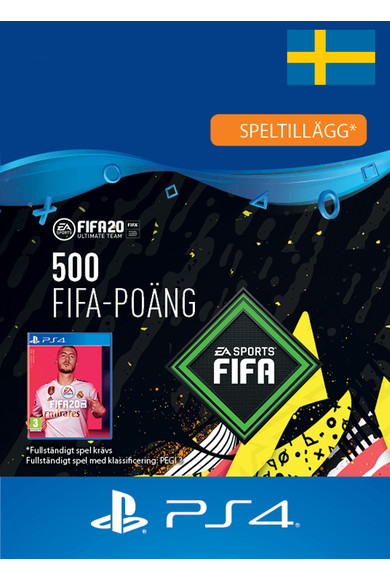 FIFA 20 - 500 FUT Points (Sweden) (PS4)