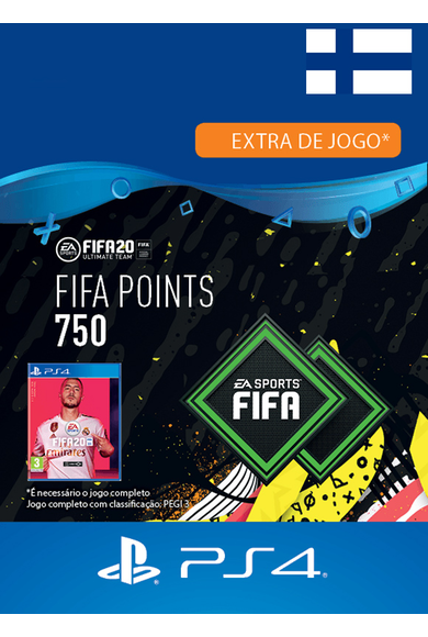 FIFA 20 - 750 FUT Points (Finland) (PS4)