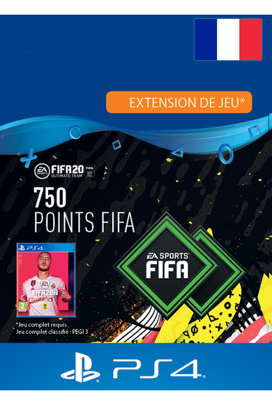 FIFA 20 - 750 FUT Points (France) (PS4)