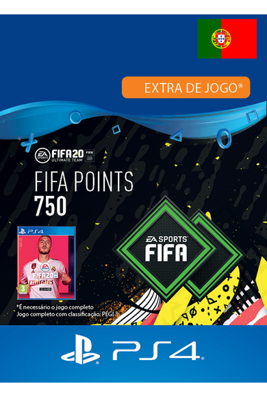 FIFA 20 - 750 FUT Points (Portugal) (PS4)
