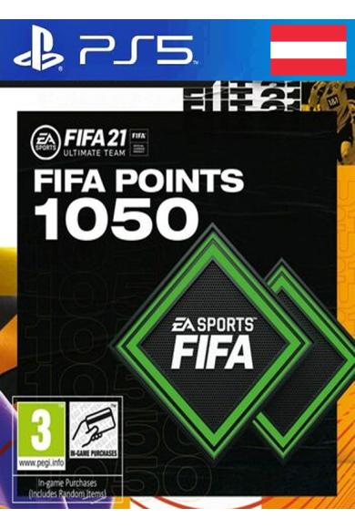 FIFA 21 - 1050 FUT Points (Austria) (PS4 / PS5)