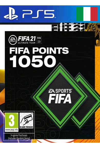 FIFA 21 - 1050 FUT Points (Italy) (PS4 / PS5)