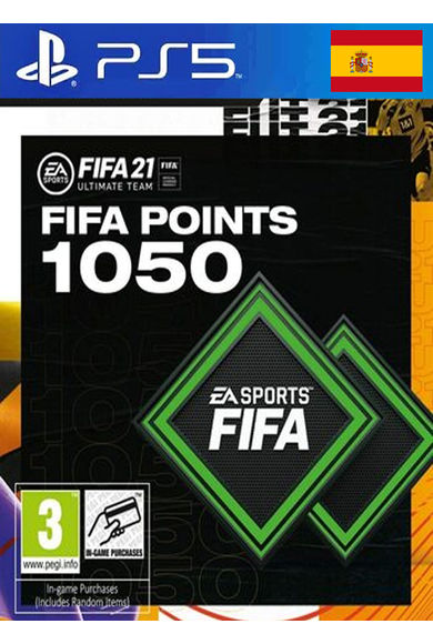 FIFA 21 - 1050 FUT Points (Spain) (PS4 / PS5)