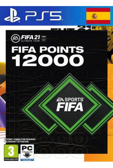 FIFA 21 - 12000 FUT Points (Spain) (PS4 / PS5)