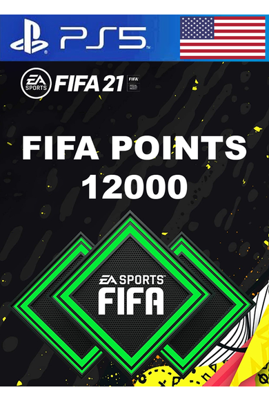 FIFA 21 - 12000 FUT Points (USA) (PS4 / PS5)