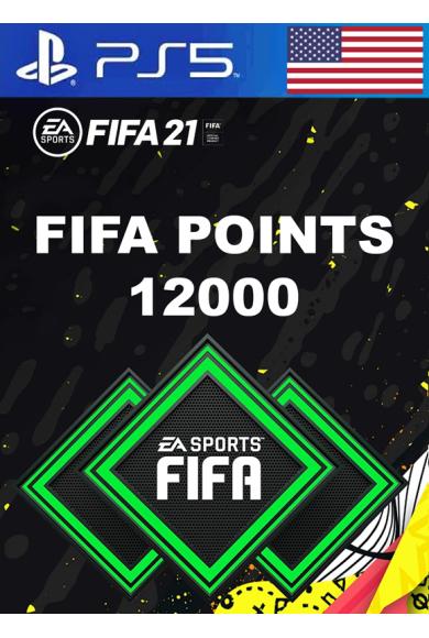 FIFA 21 - 12000 FUT Points (USA) (PS4 / PS5)