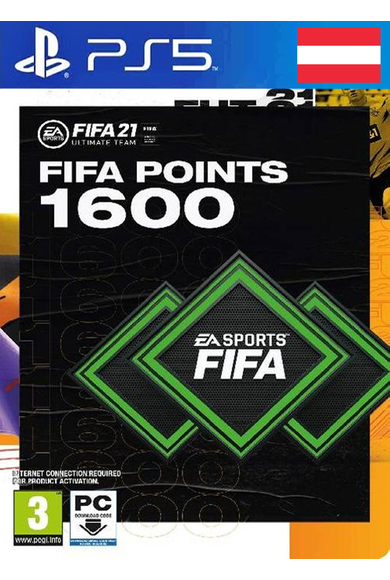 FIFA 21 - 1600 FUT Points (Austria) (PS4 / PS5)