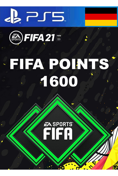 FIFA 21 - 1600 FUT Points (Germany) (PS4 / PS5)