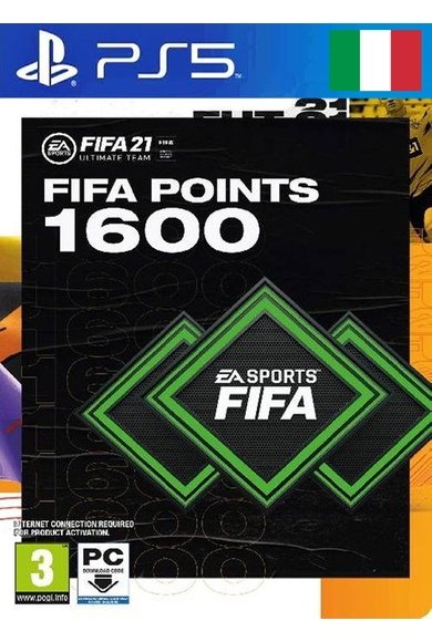 FIFA 21 - 1600 FUT Points (Italy) (PS4 / PS5)