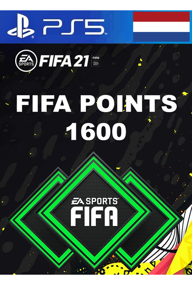 FIFA 21 - 1600 FUT Points (Netherlands) (PS4 / PS5)