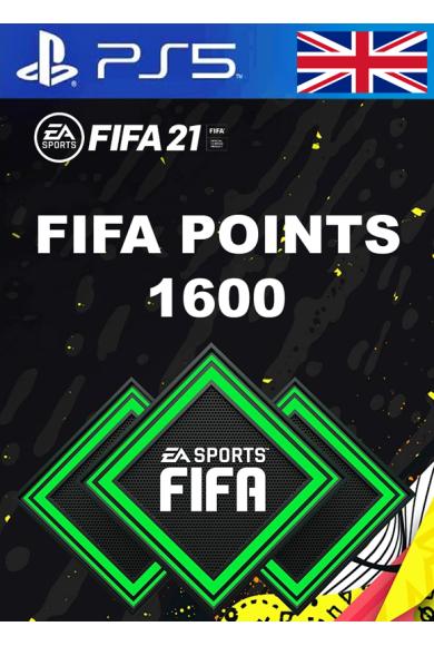 FIFA 21 - 1600 FUT Points (United Kingdom) (PS4 / PS5)