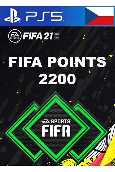 FIFA 21 - 2200 FUT Points (Czech Republic) (PS4 / PS5)