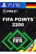 FIFA 21 - 2200 FUT Points (Germany) (PS4 / PS5)