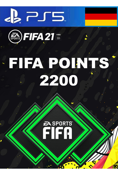FIFA 21 - 2200 FUT Points (Germany) (PS4 / PS5)