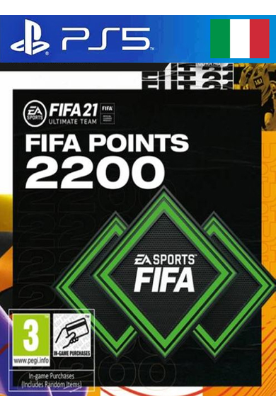 FIFA 21 - 2200 FUT Points (Italy) (PS4 / PS5)