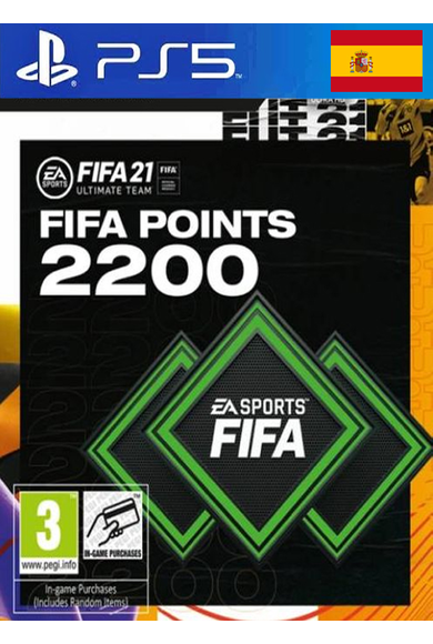 FIFA 21 - 2200 FUT Points (Spain) (PS4 / PS5)