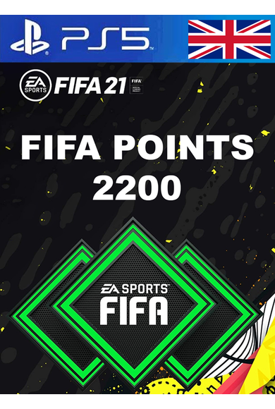 FIFA 21 - 2200 FUT Points (United Kingdom) (PS4 / PS5)