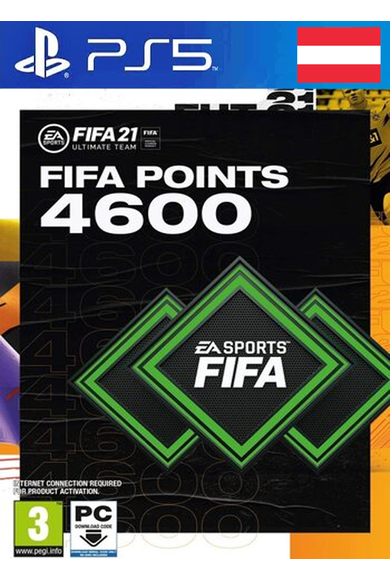 FIFA 21 - 4600 FUT Points (Austria) (PS4 / PS5)