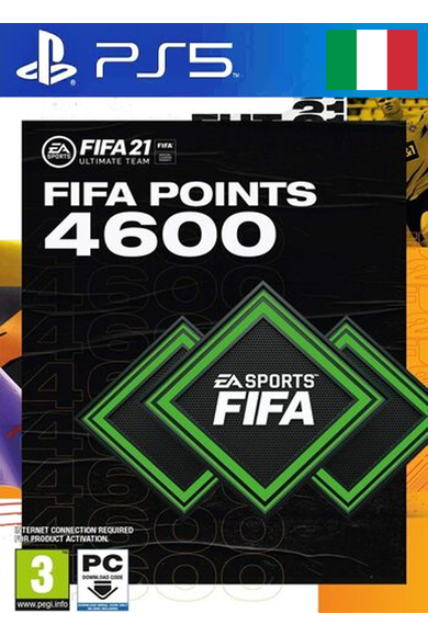 FIFA 21 - 4600 FUT Points (Italy) (PS4 / PS5)