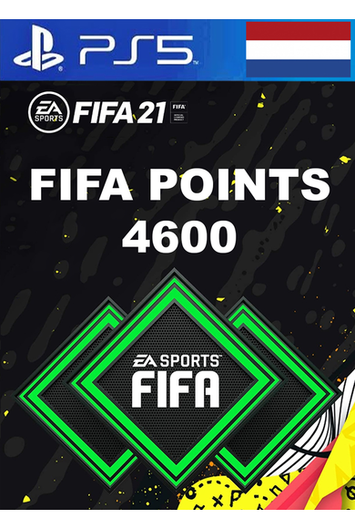 FIFA 21 - 4600 FUT Points (Netherlands) (PS4 / PS5)