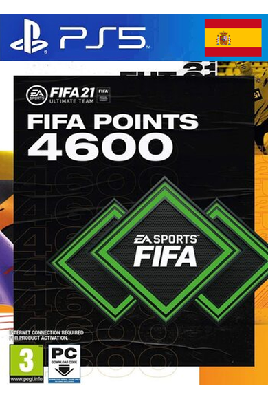 FIFA 21 - 4600 FUT Points (Spain) (PS4 / PS5)