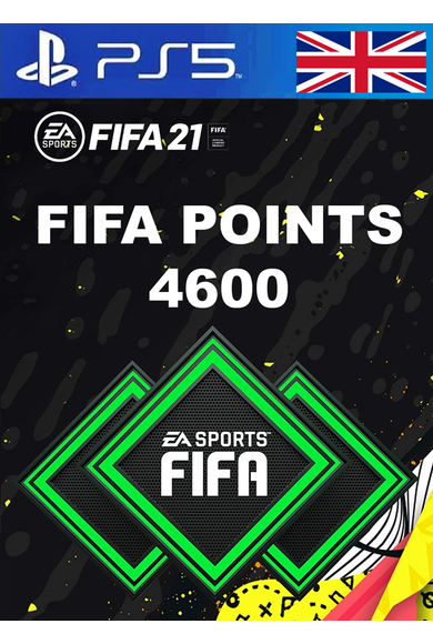 FIFA 21 - 4600 FUT Points (United Kingdom) (PS4 / PS5)