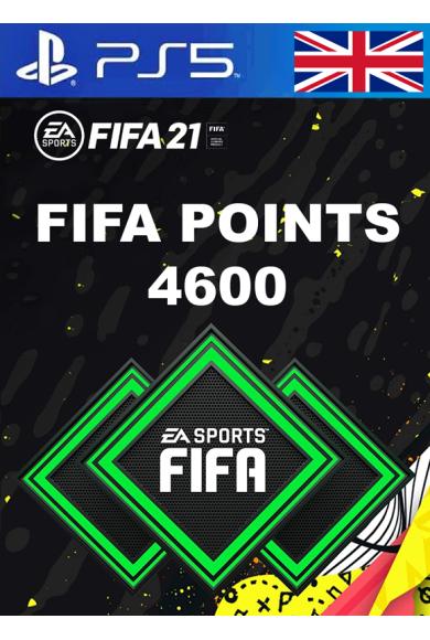 FIFA 21 - 4600 FUT Points (United Kingdom) (PS4 / PS5)