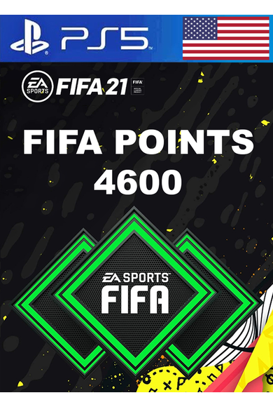 FIFA 21 - 4600 FUT Points (USA) (PS4 / PS5)