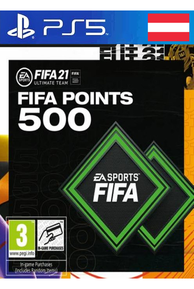 FIFA 21 - 500 FUT Points (Austria) (PS4 / PS5)