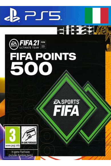 FIFA 21 - 500 FUT Points (Italy) (PS4 / PS5)