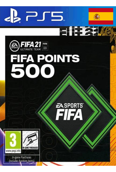 FIFA 21 - 500 FUT Points (Spain) (PS4 / PS5)