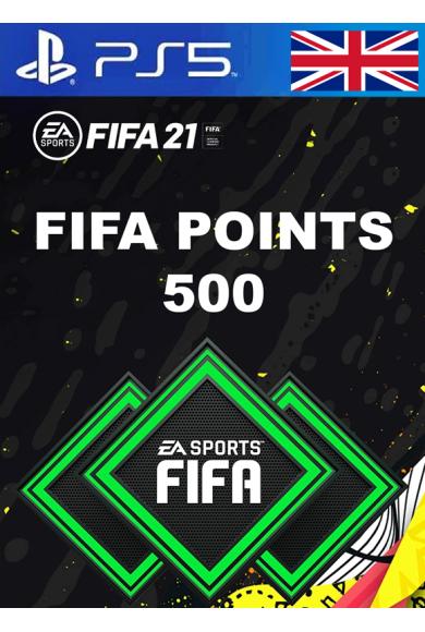 FIFA 21 - 500 FUT Points (United Kingdom) (PS4 / PS5)