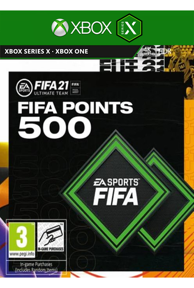FIFA 21 - 500 FUT Points (Xbox One / Series X)