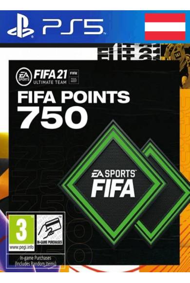 FIFA 21 - 750 FUT Points (Austria) (PS4 / PS5)