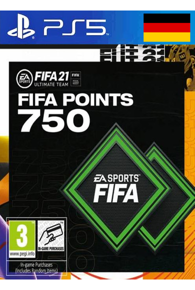 FIFA 21 - 750 FUT Points (Germany) (PS4 / PS5)