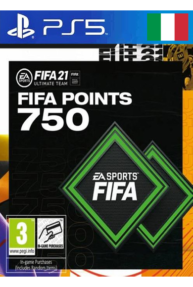 FIFA 21 - 750 FUT Points (Italy) (PS4 / PS5)