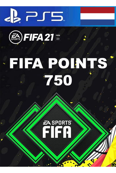FIFA 21 - 750 FUT Points (Netherlands) (PS4 / PS5)