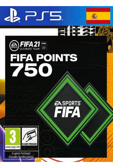 FIFA 21 - 750 FUT Points (Spain) (PS4 / PS5)