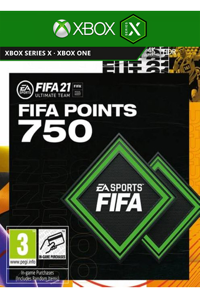 FIFA 21 - 750 FUT Points (Xbox One / Series X)