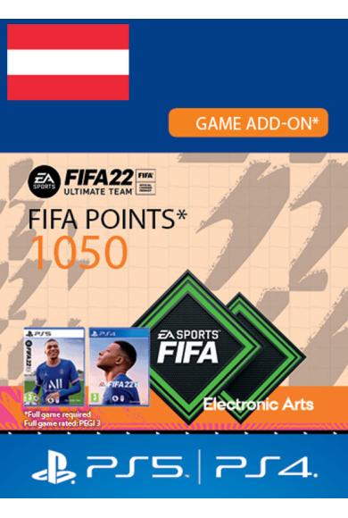 FIFA 22 - 1050 FUT Points (Austria) (PS4 / PS5)